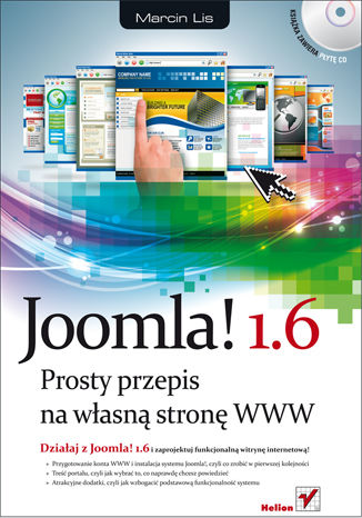 Okładka książki/ebooka Joomla! 1.6. Prosty przepis na własną stronę WWW