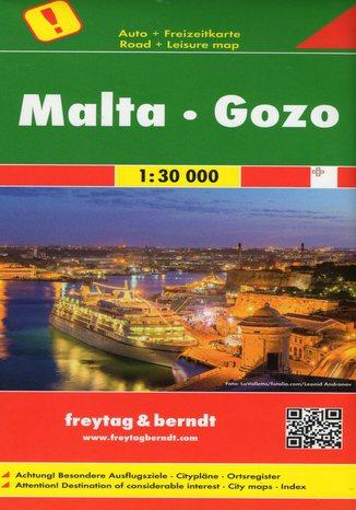 Okładka książki/ebooka Malta, Gozo, 1:30 000 Freytag&Berndt
