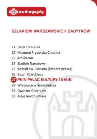 Okładka książki/ebooka Pałac Kultury i Nauki. Szlakiem warszawskich zabytków