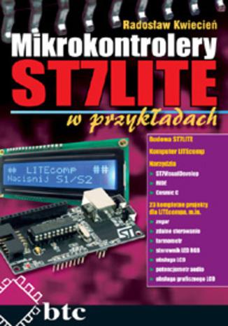 Okładka książki Mikrokontrolery ST7 LITE w przykładach