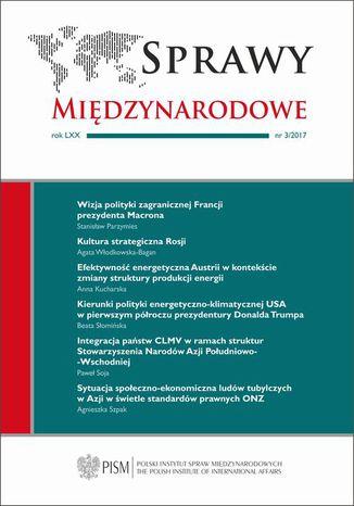 Okładka książki/ebooka Sprawy Międzynarodowe 3/2017