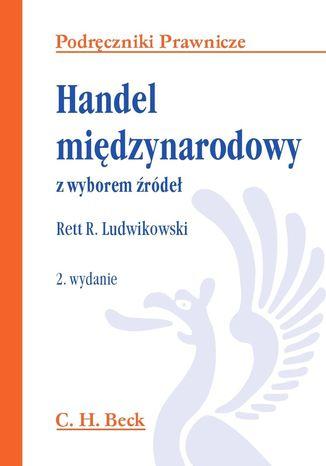 Okładka książki/ebooka Handel międzynarodowy