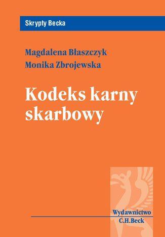 Okładka książki/ebooka Kodeks karny skarbowy