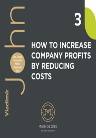 Okładka książki/ebooka HOW TO INCREASE COMPANY PROFITS BY REDUCING COSTS