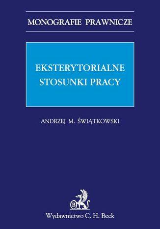 Okładka książki/ebooka Eksterytorialne stosunki pracy