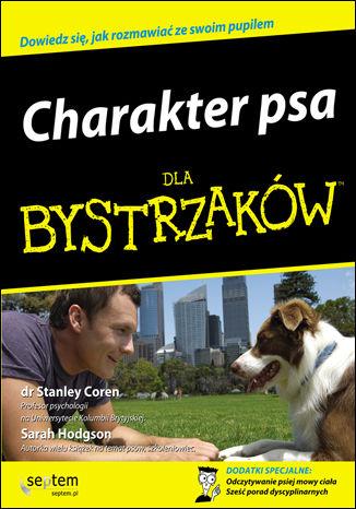Okładka książki/ebooka Charakter psa dla bystrzaków