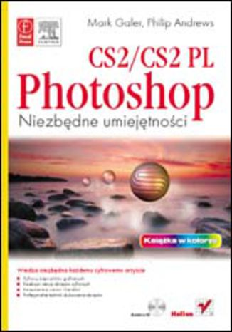 Okładka książki/ebooka Photoshop CS2/CS2 PL. Niezbędne umiejętności
