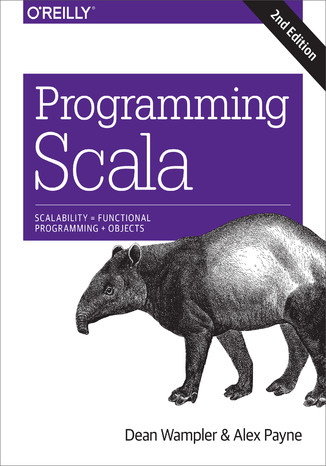 Okładka książki/ebooka Programming Scala. Scalability = Functional Programming + Objects. 2nd Edition