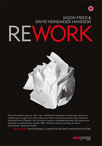 Okładka książki/ebooka Rework
