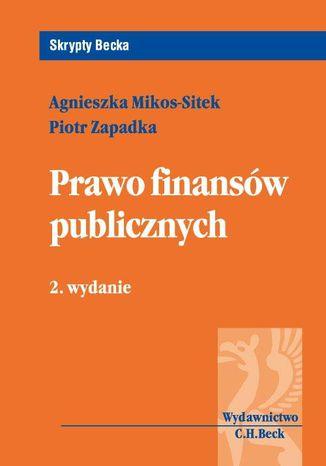 Okładka książki/ebooka Prawo finansów publicznych