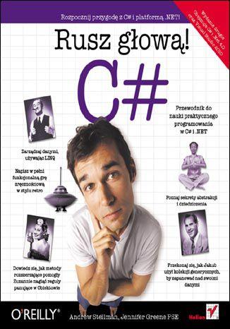 Okładka książki/ebooka C#. Rusz głową!