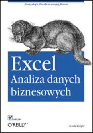 Okładka książki/ebooka Excel. Analiza danych biznesowych