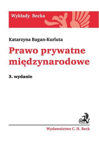 Okładka książki/ebooka Prawo prywatne międzynarodowe