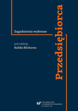Okładka książki/ebooka Przedsiębiorca. Zagadnienia wybrane