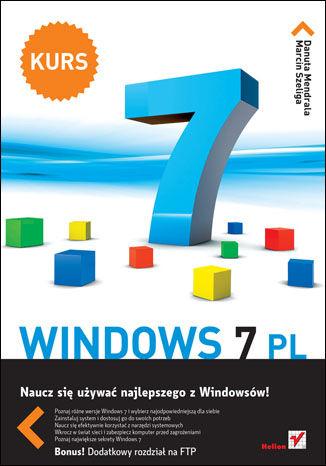 Okładka książki/ebooka Windows 7 PL. Kurs