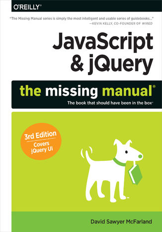 Okładka książki JavaScript & jQuery: The Missing Manual. 3rd Edition