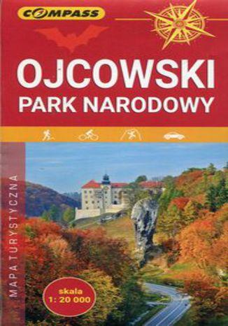 Okładka książki/ebooka Ojcowski Park Narodowy mapa turystyczna 1:20 000