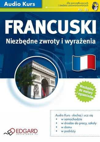 Okładka książki/ebooka Francuski Niezbędne zwroty i wyrażenia