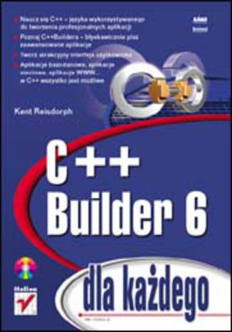 Okładka książki/ebooka C++ Builder 6 dla każdego