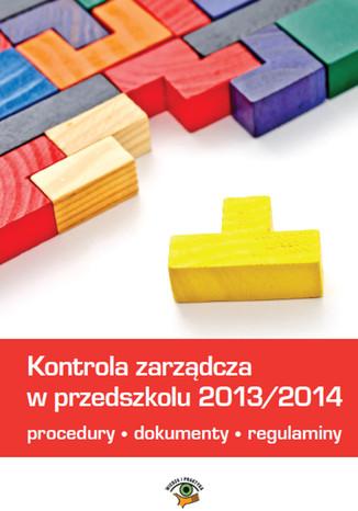 Okładka książki/ebooka Kontrola zarządcza w przedszkolu