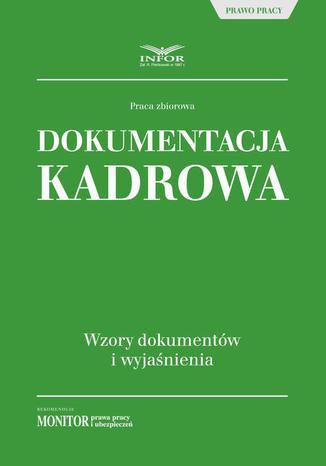 Okładka książki/ebooka Dokumentacja kadrowa