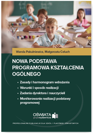 Okładka książki/ebooka Nowa podstawa programowa kształcenia ogólnego