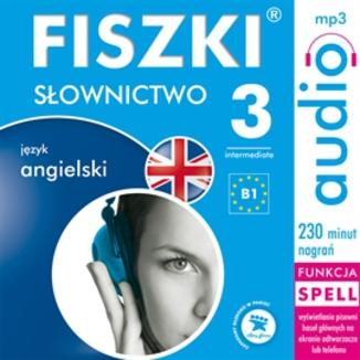 Okładka książki FISZKI audio - j. angielski - Słownictwo 3