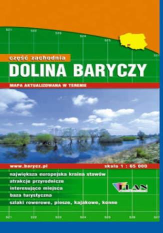 Okładka książki/ebooka Dolina Baryczy. Część zachodnia. Mapa