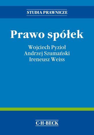 Okładka książki/ebooka Prawo spółek