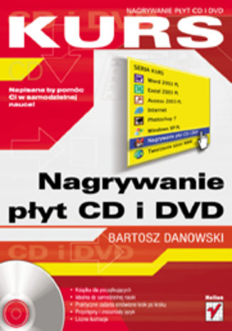 Okładka książki/ebooka Nagrywanie płyt CD i DVD. Kurs