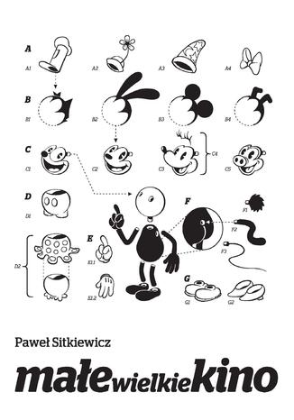 Okładka książki/ebooka Małe wielkie kino. Film animowany od narodzin do końca okresu klasycznego