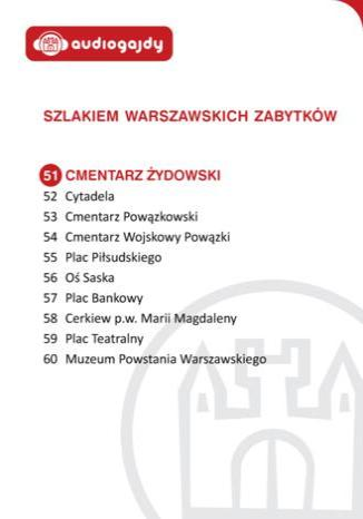 Okładka książki/ebooka Cmentarz Żydowski. Szlakiem warszawskich zabytków
