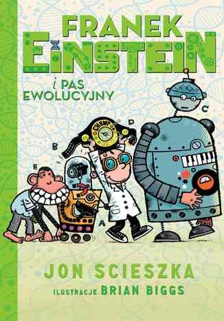 Okładka książki/ebooka Franek Einstein i pas ewolucyjny