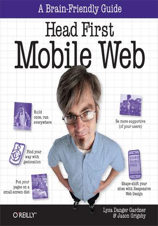 Okładka książki/ebooka Head First Mobile Web