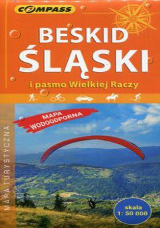 Okładka książki/ebooka Beskid Śląski i pasmo Wielkiej Raczy mapa turystyczna 1:50 000