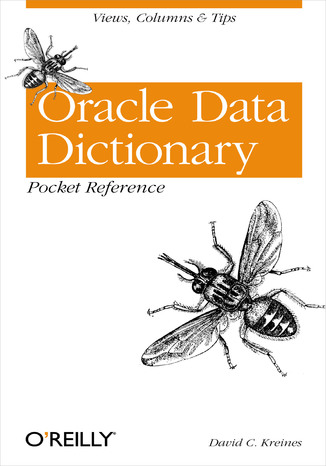 Okładka książki/ebooka Oracle Data Dictionary Pocket Reference