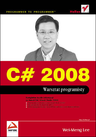Okładka książki/ebooka C# 2008. Warsztat programisty