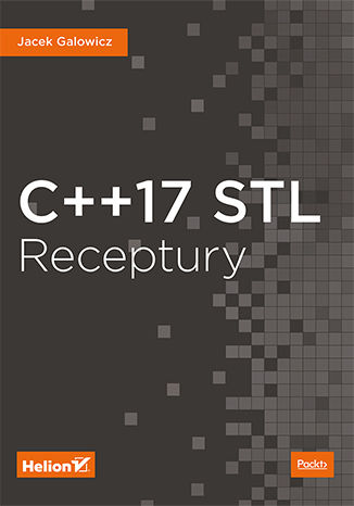Okładka książki/ebooka C++17 STL. Receptury