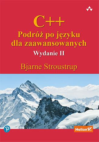 Okładka książki C++. Podróż po języku dla zaawansowanych. Wydanie II