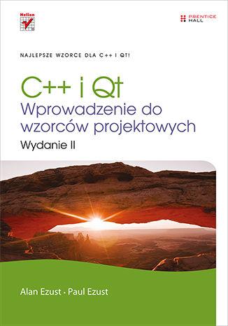 Okładka książki/ebooka C++ i Qt. Wprowadzenie do wzorców projektowych. Wydanie II