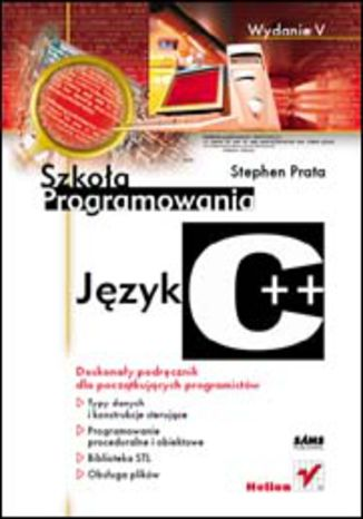 Okładka książki Język C++. Szkoła programowania. Wydanie V