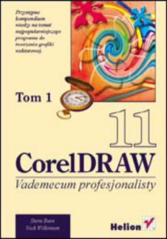 Okładka książki CorelDRAW 11. Vademecum profesjonalisty. Tom 1