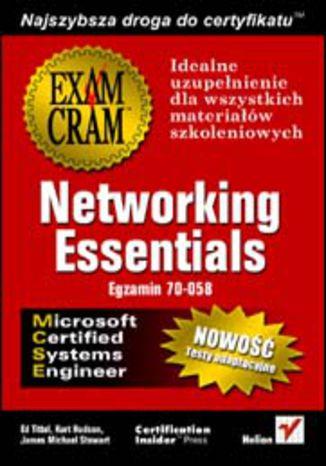 Okładka książki/ebooka Networking Essentials (egzamin 70-058)