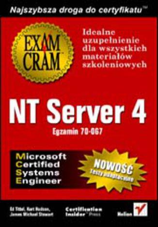 Okładka książki NT Server 4 (egzamin 70-067)