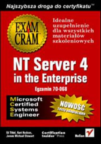 Okładka książki NT Server 4 in the Enterprise (egzamin 70-068)