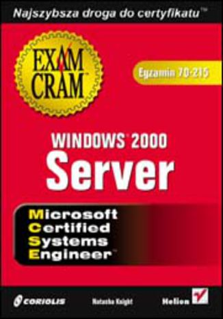 Okładka książki/ebooka Windows 2000 Server (egzamin 70-215)