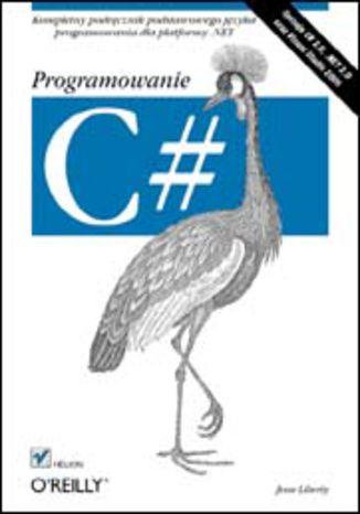 Okładka książki/ebooka C#. Programowanie