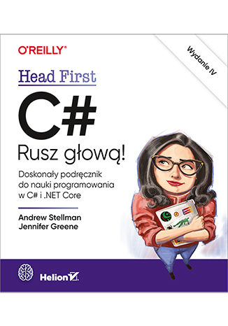 Okładka książki C#. Rusz głową! Wydanie IV