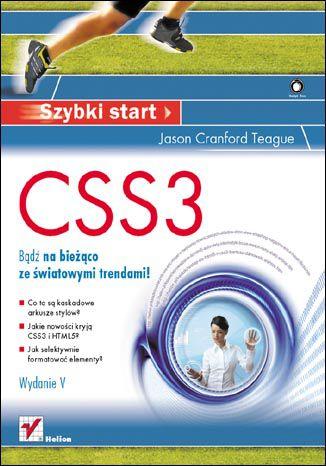 Okładka książki/ebooka CSS3. Szybki start. Wydanie V