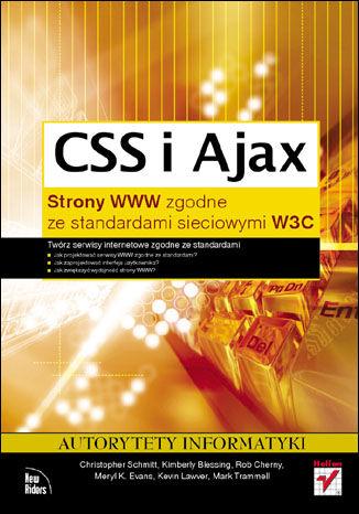 Okładka książki/ebooka CSS i Ajax. Strony WWW zgodne ze standardami sieciowymi W3C